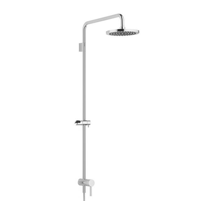 Dornbracht shower system with single lever shower mixer chrome