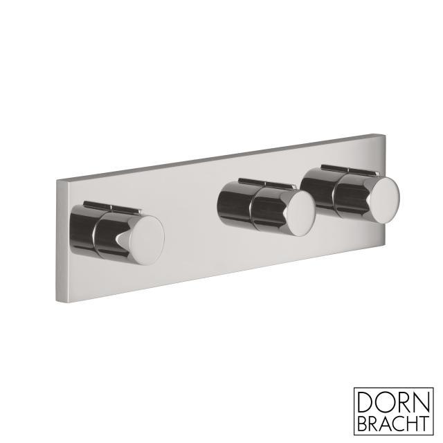 Dornbracht Symetrics wall-mounted concealed valve with diverter matt platinum