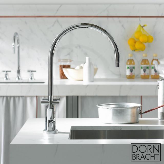 Dornbracht Tara. kitchen fitting chrome