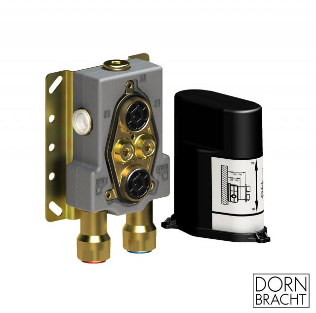 DOVB concealed thermostat unit with shut-off