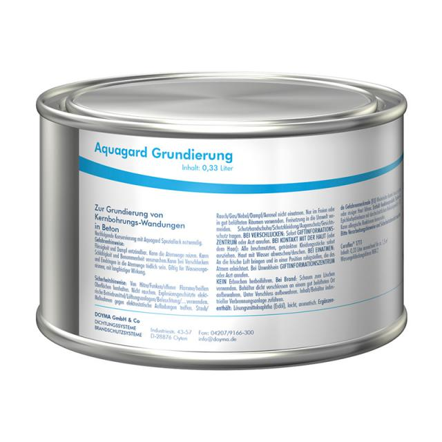 Doyma Aquagard primer, small 1/3 litre for 1 m²