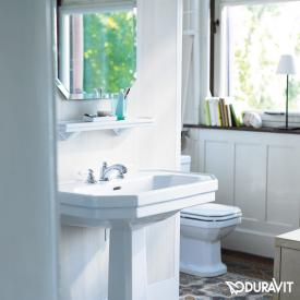 Duravit 1930 shelf white, with WonderGliss