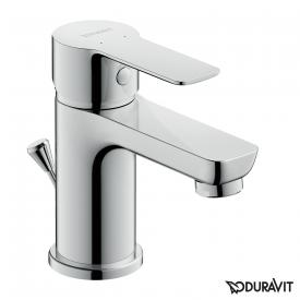 Duravit A.1 single lever basin mixer S with pop-up waste set