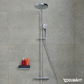 Duravit B.1 shower system with shower thermostat