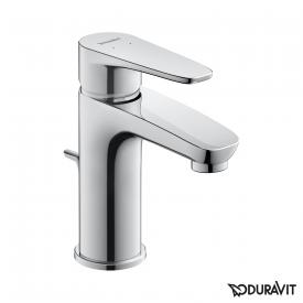 Duravit B.1 single lever basin mixer S with pop-up waste set
