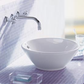 Duravit Bacino countertop washbasin white, with WonderGliss