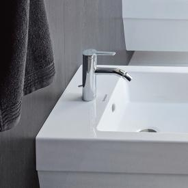 Duravit C.1 single lever bidet mixer with pop-up waste set chrom