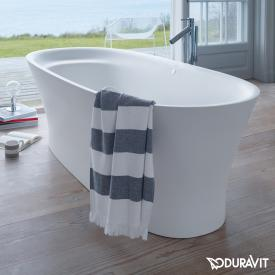 Duravit Cape Cod freestanding oval whirlbath with panelling with Air-System