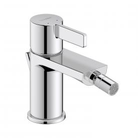 Duravit D-Neo single lever bidet mixer with pop-up waste set