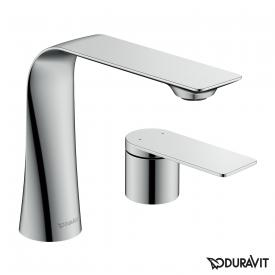 Duravit D.1 two hole basin fitting M with lever chrome