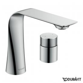Duravit D.1z two hole basin fitting M with rotary knob chrome