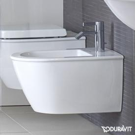 Duravit Darling New wall-mounted bidet Compact white, with WonderGliss, with tap hole