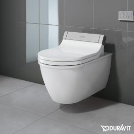 Duravit Darling New wall-mounted washdown toilet for SensoWash®, extended version white