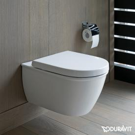 Duravit Darling New wall-mounted, washdown toilet, rimless white, with WonderGliss