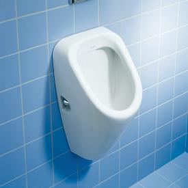 Duravit Duraplus urinal, rear supply white, with target