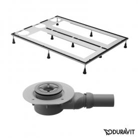 Duravit DuraSolid shower tray set