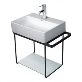 Duravit DuraSquare wall-mounted metal console for hand washbasin 45 cm matt black