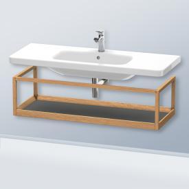 Duravit DuraStyle furniture accessoire shelf corpus european oak / shelf matt graphite