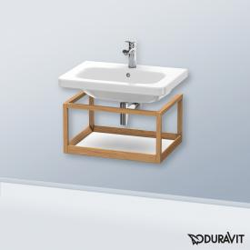 Duravit DuraStyle furniture accessoire shelf corpus european oak / shelf matt white