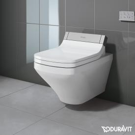 Duravit DuraStyle wall-mounted washdown toilet for SensoWash®, extended version rimless, white, with WonderGliss