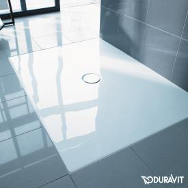 Duravit DuraPlan floor-level shower tray white