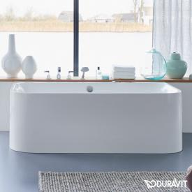 Duravit Happy D.2 back-to-wall bath with panelling