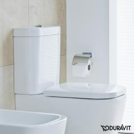 Duravit Happy D.2 cistern for bottom left supply white, with WonderGliss