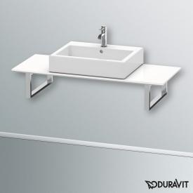 Duravit Happy D.2 console back-to-wall for countertop basin white, 60 cm