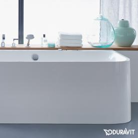 Duravit Happy D.2 corner bath with panelling