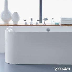 Duravit Happy D.2 rectangular bath, integrated panel, right corner