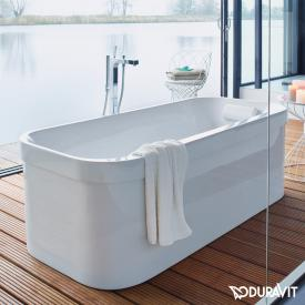 Duravit Happy D.2 freestanding oval bath with panelling