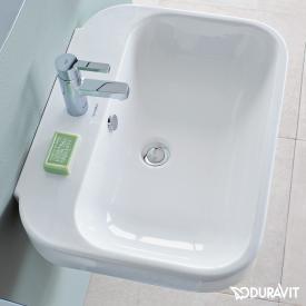 Duravit Happy D.2 hand washbasin white, with WonderGliss