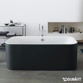 Duravit Happy D.2 Plus freestanding oval bath with panelling