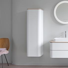 Duravit Happy D.2 Plus medium unit with 1 door front silk matt white / corpus silk matt white