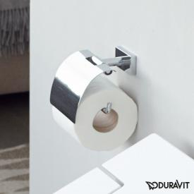 Duravit Karree toilet roll holder