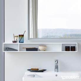 Duravit L-Cube horizontal rack matt white