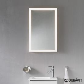 Duravit L-Cube mirror with LED lighting without mirror heating