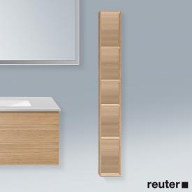 Duravit L-Cube vertical rack european oak