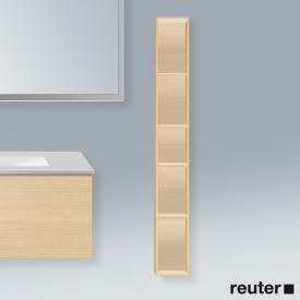 Duravit L-Cube vertical rack mediterranean oak