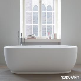 Duravit Luv freestanding oval bath with panelling