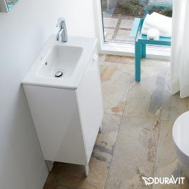 Duravit ME by Starck hand washbasin white, with WonderGliss, with overflow