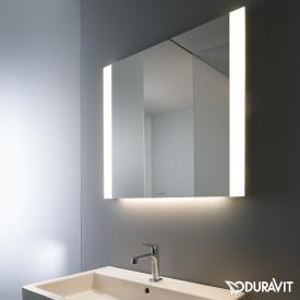 Duravit mirror with LED light field at the side edges Best-Version