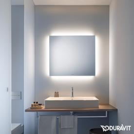 Duravit mirror with indirect LED lighting Good-Version