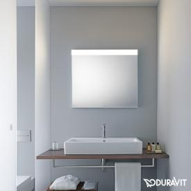 Duravit mirror with LED light field at the top edge Best-Version
