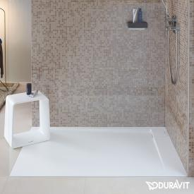 Duravit P3 Comforts rectangular/square shower tray, right corner