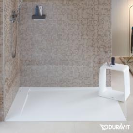 Duravit P3 Comforts rectangular/square shower tray, left corner