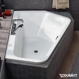 Duravit Paiova built-in hexagonal bath, for right corner