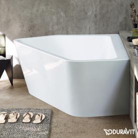 Duravit Paiova hexagonal bath with panelling, for left corner