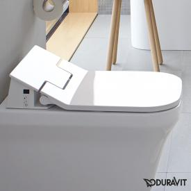 Duravit the NEW SensoWash® Slim P3 Comforts shower toilet seat with descaling function