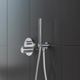 Duravit staff-shaped hand shower chrome